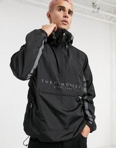 Черная куртка-анорак The Hundreds-Черный