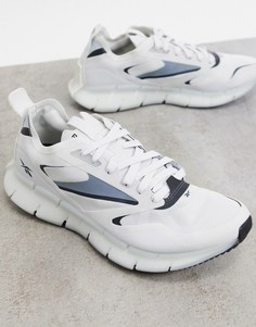Белые кроссовки Reebok Running Zig Kinetica Horizon-Белый