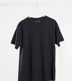Черная свободная футболкаASOS DESIGN Maternity-Черный