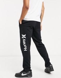 Черные флисовые джоггеры Hurley OAO-Черный