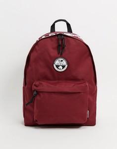 Бордовый рюкзак Napapijri-Красный