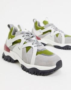 Походные кроссовки с рифленой подошвой Selected Femme-Мульти