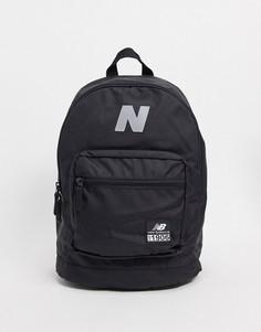 Черный рюкзак с логотипом New Balance