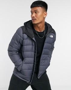 Серая куртка с капюшоном The North Face La Paz-Серый