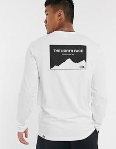 Белый лонгслив The North Face Horizon Box-Черный