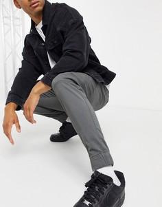 Темно-серые джоггеры карго Hollister-Серый