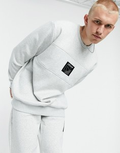Серый свитшот adidas Originals SPRT Icon