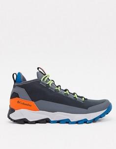 Серые низкие ботинки Columbia Flow Borough-Серый