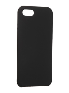 Чехол LuxCase для Apple iPhone 6 / 7 / 8 Soft Touch Premium Black 69013