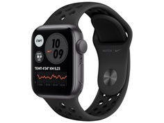 Умные часы APPLE Watch Nike SE 40mm Space Grey Aluminium Case with Anthracite/Black Nike Sport Band MYYF2RU/A