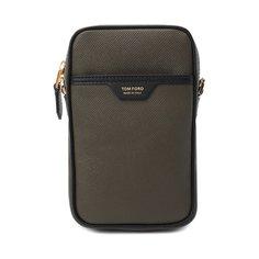 Кожаная сумка Tom Ford