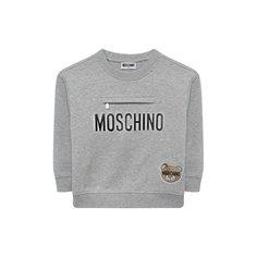 Хлопковый свитшот Moschino
