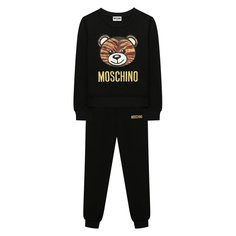 Комплект из свитшота и брюк Moschino