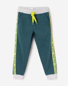 Спортивные брюки колор-блок с лампасами для мальчика Gloria Jeans