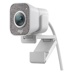 Web-камера LOGITECH StreamCam White, белый и серый [960-001297]