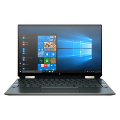"Ноутбук-трансформер HP Spectre x360 13-aw0035ur, 13.3"", IPS, Intel Core i7 1065G7 1.3ГГц, 16ГБ, 512ГБ SSD, Intel Iris Plus graphics , Windows 10, 231A8EA, темно-синий"