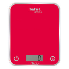 Весы кухонные TEFAL BC5003V2, красный