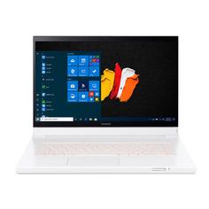 """Ноутбук-трансформер ACER ConceptD 7 Ezel CC715-71-70X8, 15.6"""", IPS, Intel Core i7 10750H 2.6ГГц, 32ГБ, 1ТБ + 1ТБ SSD, NVIDIA GeForce RTX 2080 Super - 8192 Мб, Windows 10 Professional, NX.C5BER.001, белый"""