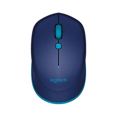 Мышь LOGITECH Bluetoth Mouse M535, оптическая, беспроводная, синий [910-004531]