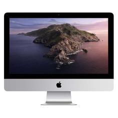 "Моноблок APPLE iMac MHK03RU/A, 21.5"", Intel Core i5 7360U, 8ГБ, 256ГБ SSD, Intel Iris Plus Graphics 640, macOS, серебристый и черный"