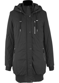 Утеплённая куртка с капюшоном Bonprix