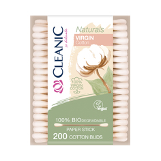 Ватные палочки Cleanic Naturals картон 200шт