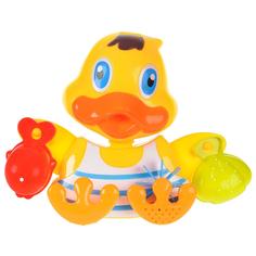 Игрушка для ванны ABtoys Веселое купание утенок-мельница (PT-00538)