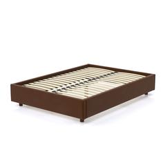 Кровать AS Саманта 160x200 орех/коричневый