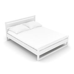 Кровать AS Андреа 160x200 белая эмаль
