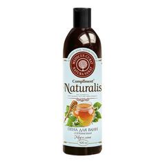 Пена для ванн Compliment Naturalis Согревающая Мед и липа 500 мл