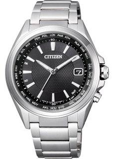 Японские наручные мужские часы Citizen CB1070-56E. Коллекция Eco-Drive