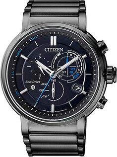 Японские наручные мужские часы Citizen BZ1006-82E. Коллекция Eco-Drive