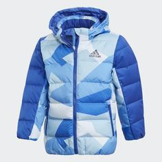 Пуховик Allover Print adidas Performance