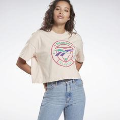 Укороченная футболка Classics Trail Reebok