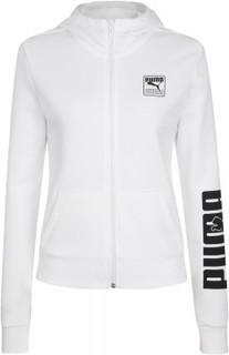 Толстовка женская Puma Rebel Full-Zip, размер 42-44