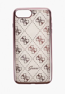 Чехол для iPhone Guess 7 Plus / 8 Plus, 4G Transparent Hard TPU Rose gold