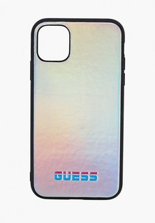 Чехол для iPhone Guess 11, Iridescent Hard PU Silver