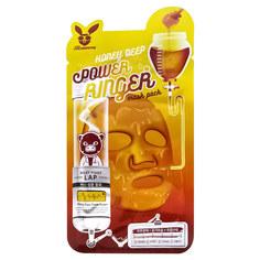 ELIZAVECCA Маска для лица тканевая с медом