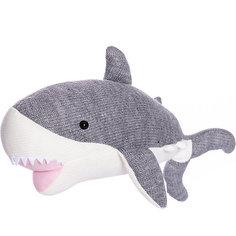 Вязаная игрушка ABtoys Knitted Акула, 40 см