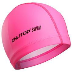 Шапочка для плавания, взрослая, цвет розовый Onlitop