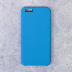 Чехол luazon силиконовый iphone 6 plus, синий