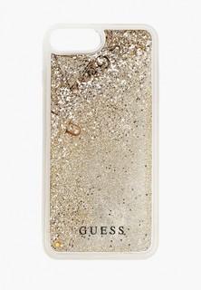 Чехол для iPhone Guess 7 Plus/8 Plus, Glitter Hard Gold