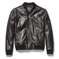 Куртки Leather Bomber Timberland