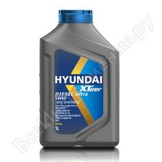 Моторное масло синтетическое diesel ultra 5w40, 1 л hyundai xteer 1011223