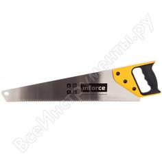 Ножовка по дереву inforce 500 мм 06-08-18