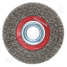 Щетка дисковая с гофрированной нержавеющей проволокой эксперт 543 (100х20 мм; 12.7/16 мм) профоснастка 20805001