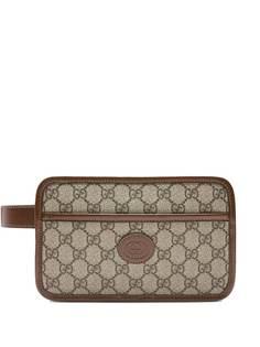 Gucci клатч с логотипом GG