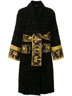 Versace Home халат с узором Barocco