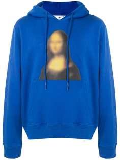 Off-White худи с принтом Mona Lisa