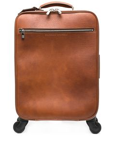 Brunello Cucinelli чемодан с логотипом